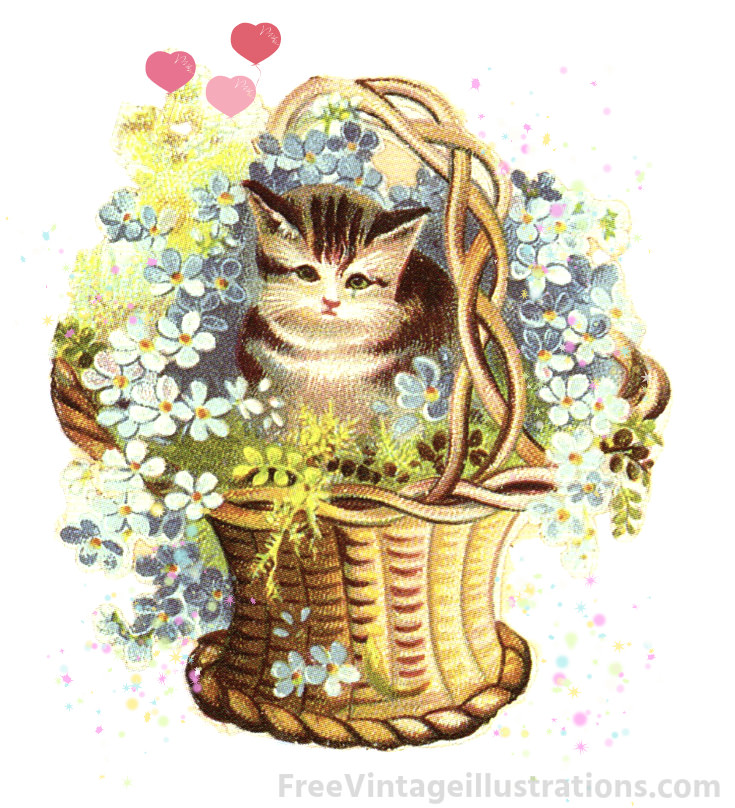 Small basket clipart png freeuse stock Free Kitten Basket Cliparts, Download Free Clip Art, Free ... png freeuse stock