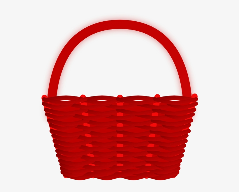 Small basket clipart clipart transparent library Small - Little Red Riding Hood Basket Clipart - 600x584 PNG ... clipart transparent library