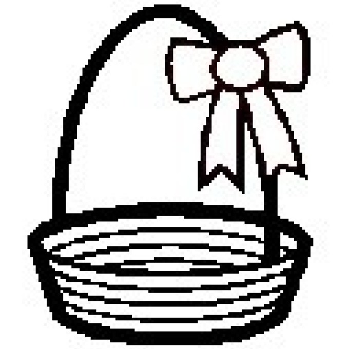 Small basket clipart png free download Easter Basket Template, Easter Basket Clipart Easter Craft ... png free download