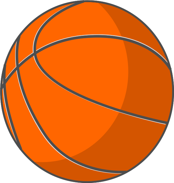 Small basketball clipart graphic transparent download Basketball Clip Art at Clker.com - vector clip art online, royalty ... graphic transparent download