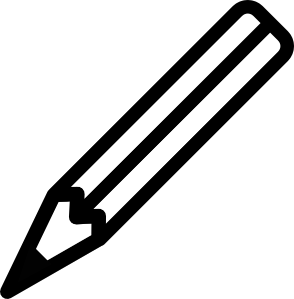 Small black and white pencil clipart png royalty free Pencil Clip Art at Clker.com - vector clip art online ... png royalty free