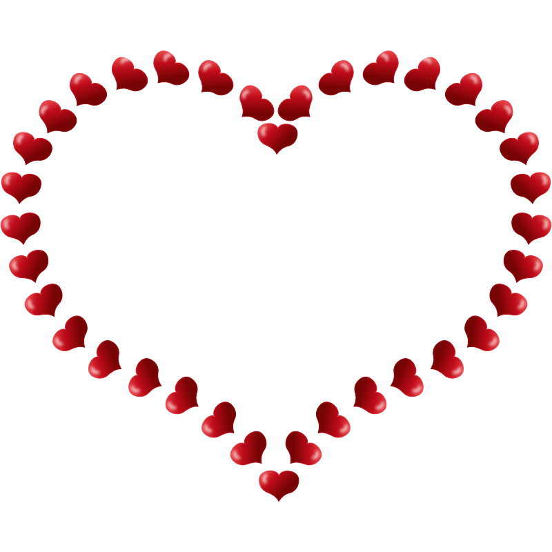 Small black heart clipart clipart royalty free library Romantic Clipart Love Heart Free collection   Download and share ... clipart royalty free library