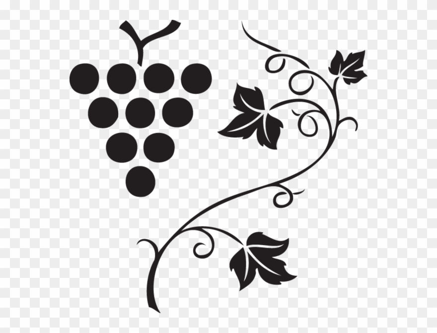 Vector images clipart black and white download 562 Grapes & Vine Clipart Images, Vector Clipart, Multiple ... black and white download
