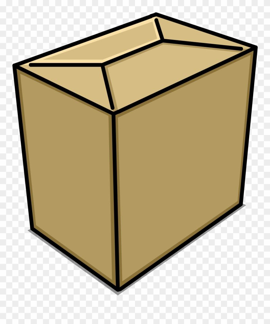 Small box clipart clip art black and white Small Box Sprite 007 - Portable Network Graphics Clipart ... clip art black and white