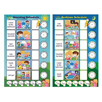Small boy clipart daily routine schedule night time banner library stock Magnetic Chore Chart for Kids - Dry Erase Board, Responsibility Chore  Chart, a Board for Morning Schedule and a Board for Bedtime Schedule, Smart  ... banner library stock