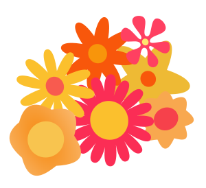 Small cartoon flower jpg transparent download Flower Cluster Cartoon Clipart, vector clip art online, royalty ... jpg transparent download