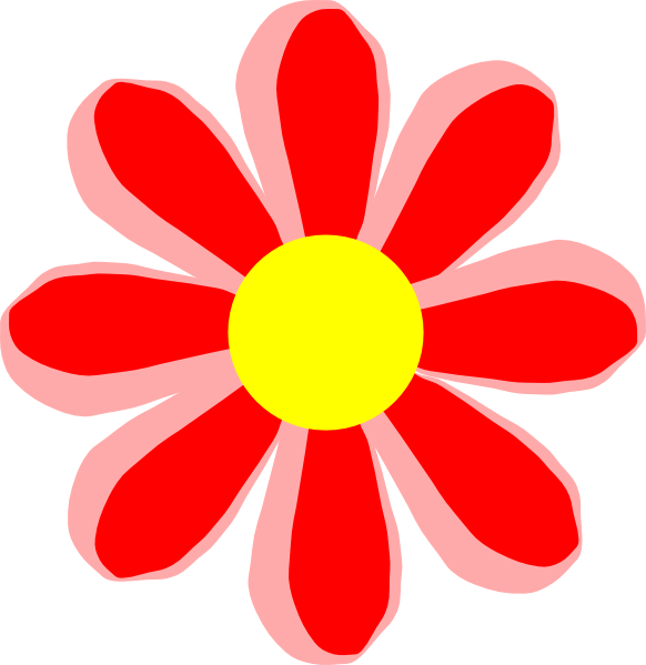Small clipartfest png medium. Flower cartoon clipart