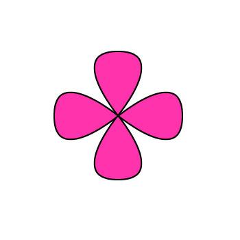 Small cartoon flower free Cartoon Pink Flower - ClipArt Best free