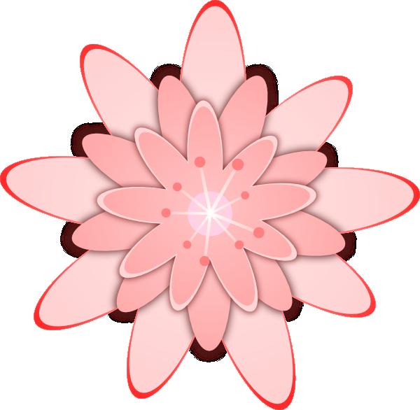 Small cartoon flower free Pink Flower 15 Clip Art at Clker.com - vector clip art online ... free