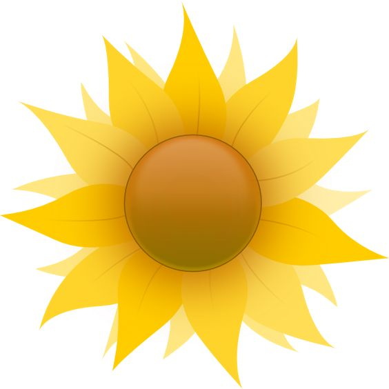 Small cartoon flowers vector library small flowers images cartoon   Sunflower clip art - vector clip ... vector library