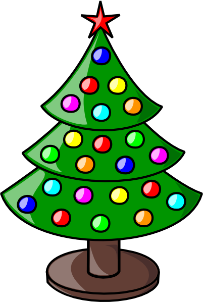 Small christmas tree clipart free png black and white download Christmas Tree Clip Art Free | Clipart Panda - Free Clipart ... png black and white download