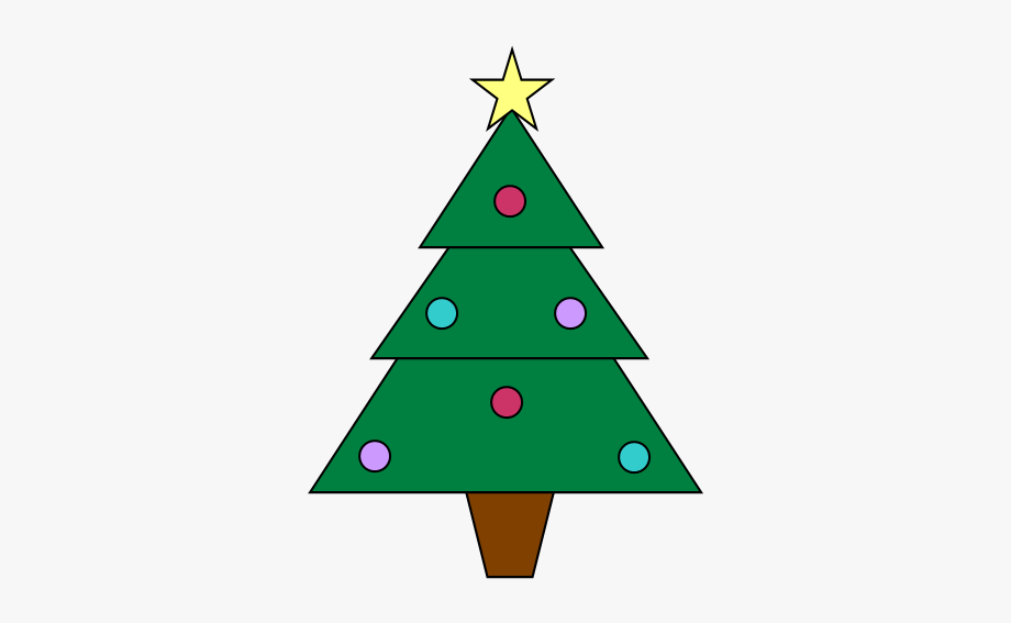 Small christmas tree clipart free jpg library download Two Free Christmas Tree Clipart Images - Christmas Tree ... jpg library download