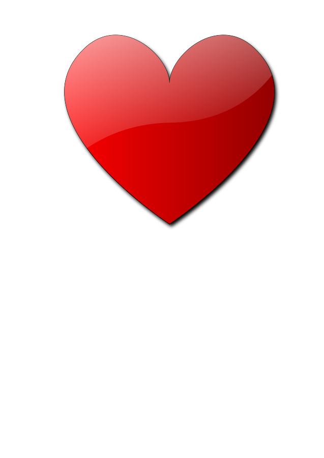 Small heart clipart free black and white library Heart Design Pictures | Free Download Clip Art | Free Clip Art ... black and white library