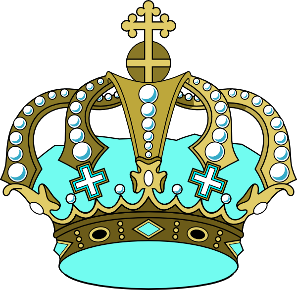Small crown clipart svg freeuse library Gold Crown Clip Art at Clker.com - vector clip art online, royalty ... svg freeuse library