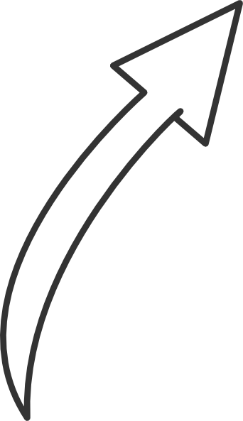 Small curved arrow black and white clipart image freeuse Arrow Clip Art at Clker.com - vector clip art online, royalty free ... image freeuse