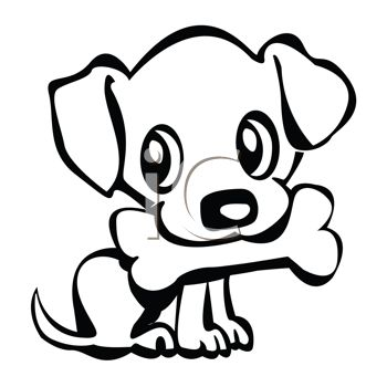 Small dog clipart image free stock Animated Puppy Clipart - Clipart Kid image free stock