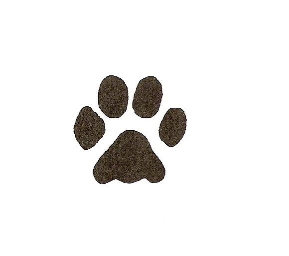 Small dog paw print clipart jpg black and white stock Free Dog Paw Print Image, Download Free Clip Art, Free Clip ... jpg black and white stock
