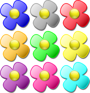 Small flowers clip art image freeuse Small Flower Clip Art – Clipart Free Download image freeuse