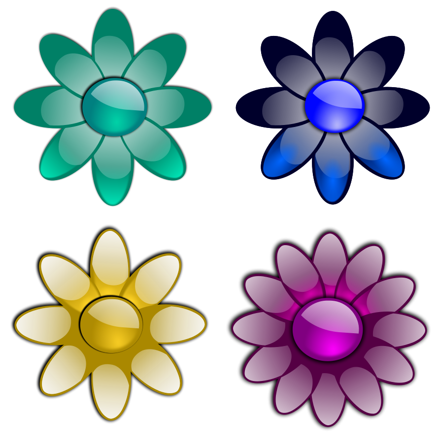 Small flowers clip art - ClipartFest clip art free