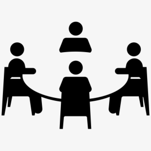 Small group discussions clipart picture royalty free Meeting Clipart Social Meeting - Small Group Discussion ... picture royalty free