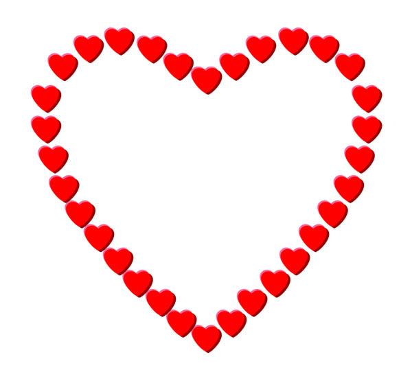Small hearts clip art vector freeuse Tiny Heart Clipart - Clipart Kid vector freeuse
