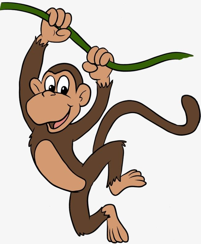 Small monkey clipart picture black and white Cartoon Monkey | house quilts | Cartoon monkey, Monkey, Cartoon picture black and white