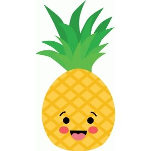 Small pineapple smile clipart jpg freeuse library Pineapple clipart smiling for free download and use images ... jpg freeuse library