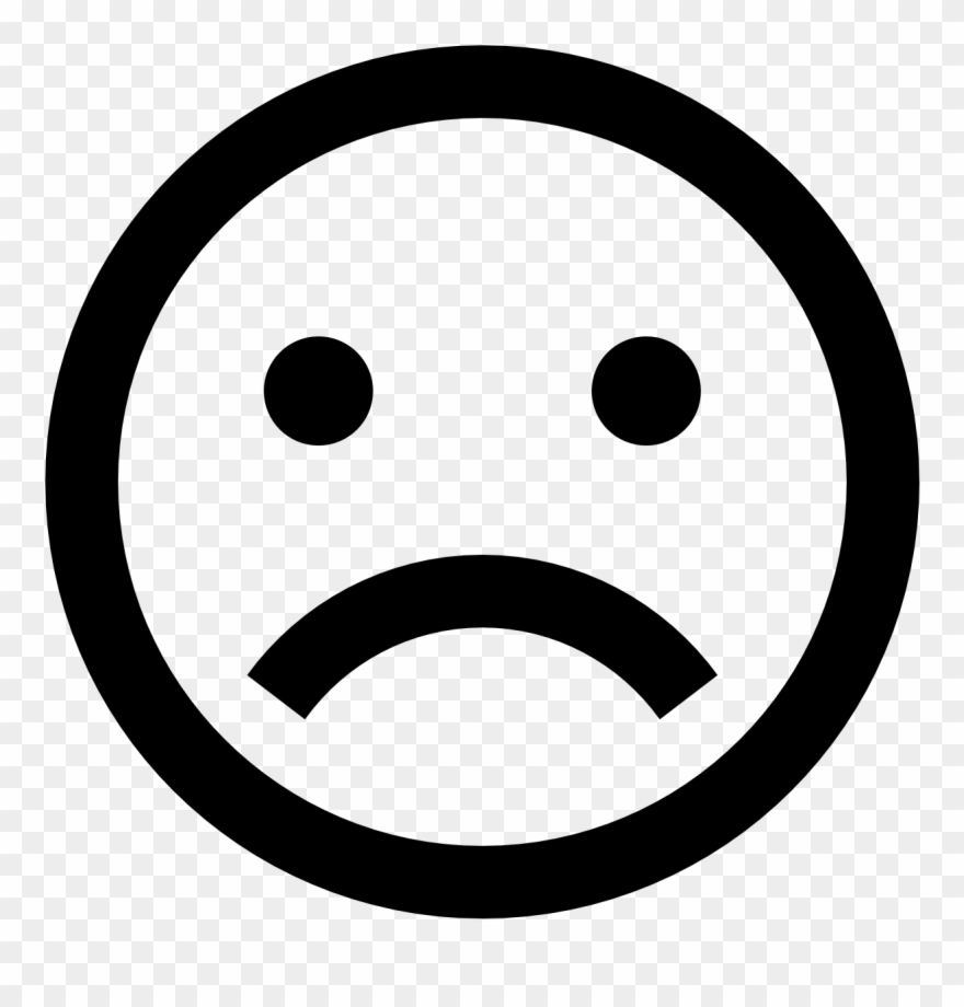 Small sad face clipart transparent library Small Sad Face - Surprised Icon Clipart (#876775) - PinClipart transparent library