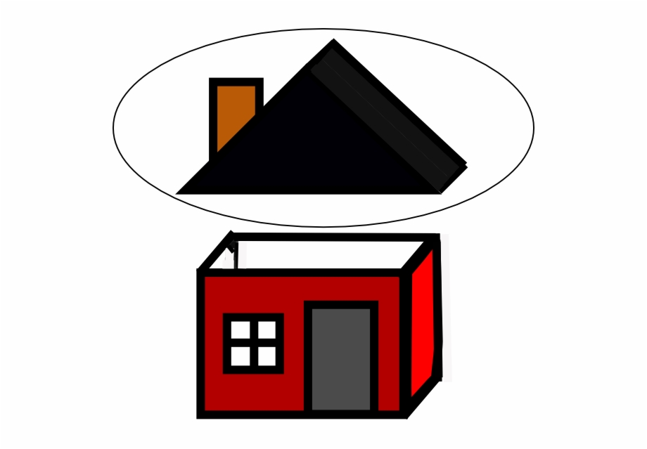 Small transparent clipart picture transparent library Roof Clip Art - Transparent Small House Clipart Free PNG ... picture transparent library