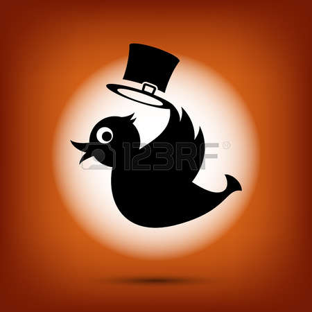 Small twitter clipart vector black and white stock 724 Twitter Stock Vector Illustration And Royalty Free Twitter Clipart vector black and white stock