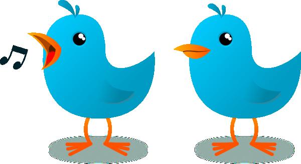 Small twitter clipart clip art black and white Twitter Bird Mascot Clip Art at Clker.com - vector clip art online ... clip art black and white