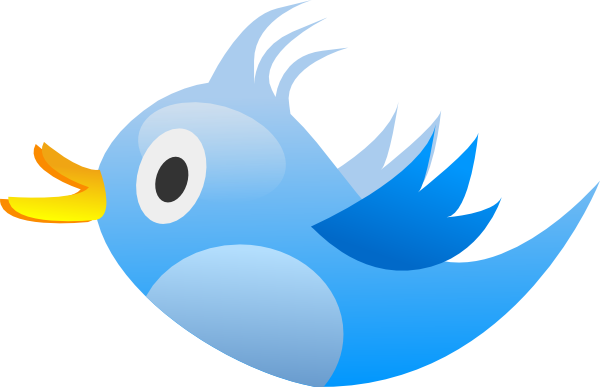 Small twitter clipart vector freeuse stock Twitter Clip Art at Clker.com - vector clip art online, royalty ... vector freeuse stock