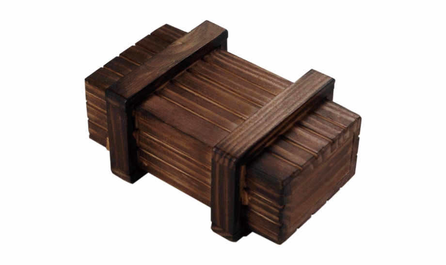 Small wood box clipart jpg stock Trick Wooden Puzzle Box Small - Wood Puzzle Boxes Free PNG ... jpg stock