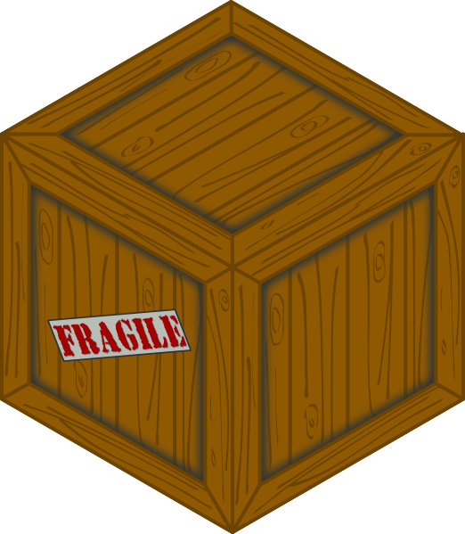 Small wood box clipart vector library Isometric Wooden Crate Clip Art at Clker.com - vector clip ... vector library