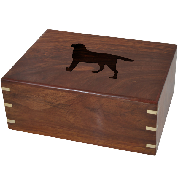 Small wood box clipart clip art transparent library Perfect Wooden Box Urn Your Dog\'s Silhouette clip art transparent library