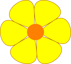 Small yellow flowers clipart image freeuse download Yellow Clipart | Free Download Clip Art | Free Clip Art | on ... image freeuse download