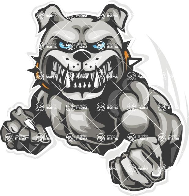Smart bulldogs clipart jpg black and white 9. Bulldog Mascot Clipart jpg black and white