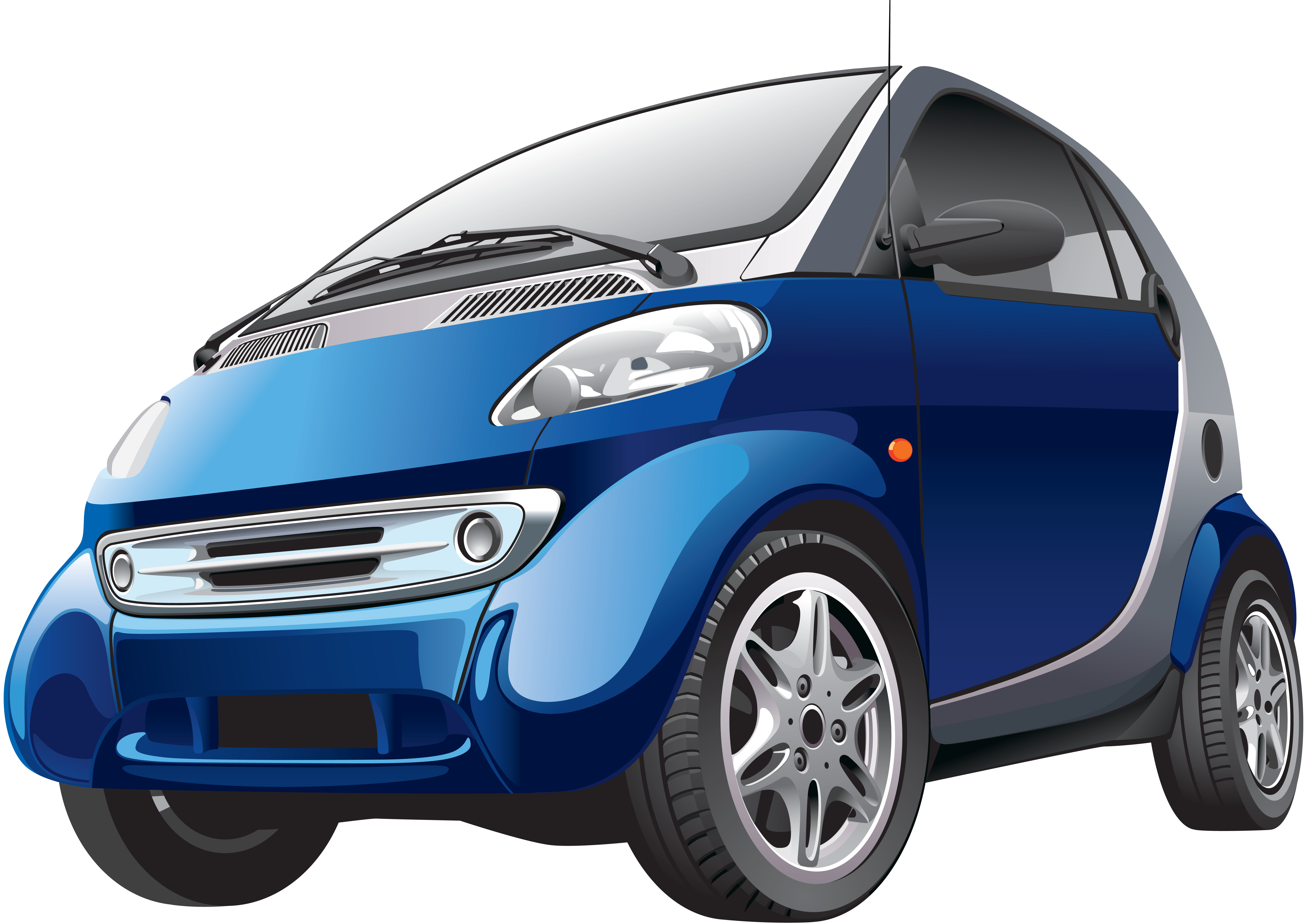 Smart car clipart clip freeuse Blue Smart car PNG Clipart - Download free images in PNG clip freeuse
