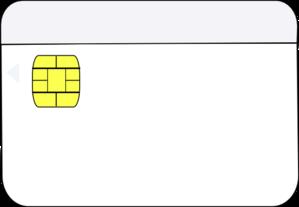 Smart card clipart jpg transparent Smart Card White Clip Art at Clker.com - vector clip art ... jpg transparent