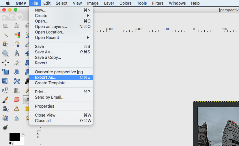 Photoshop clipart save option missing