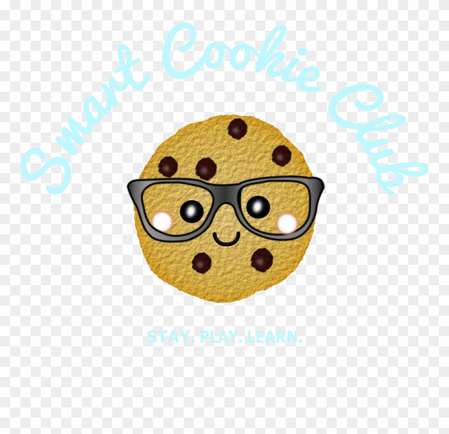 Cartoon smart cookie clipart vector freeuse stock Chocolate Chip Cookie Clip Art - Smart Cookie - Png Download ... vector freeuse stock