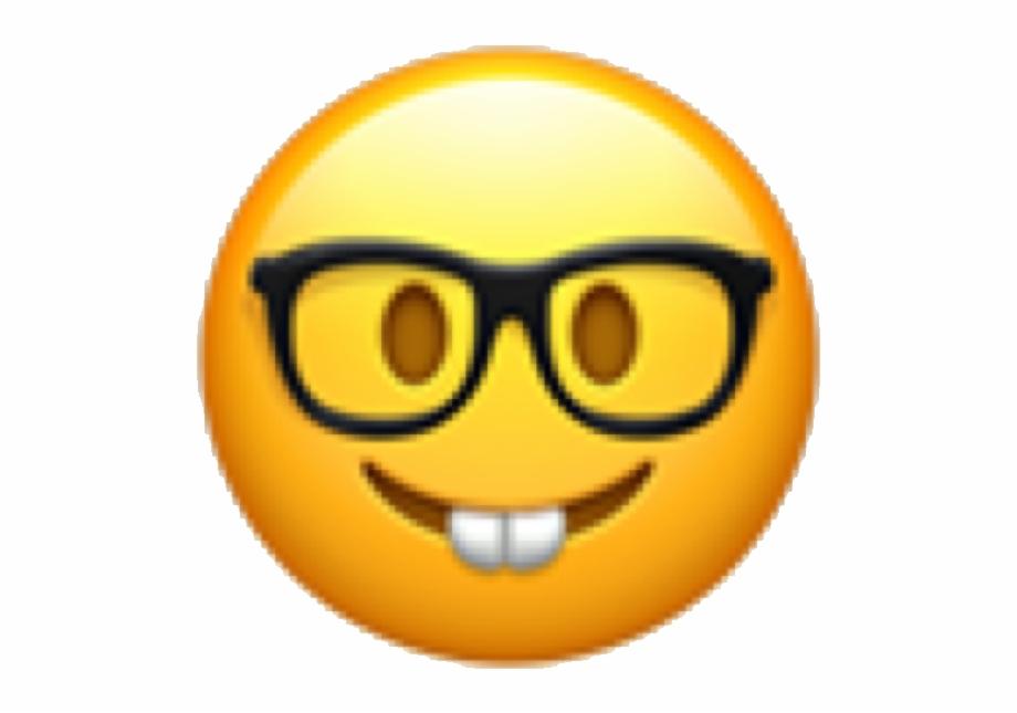 Smart emoji clipart graphic royalty free download emoji #emojicon #emote #face #emojiface #nerd #nerdy - Emoji ... graphic royalty free download
