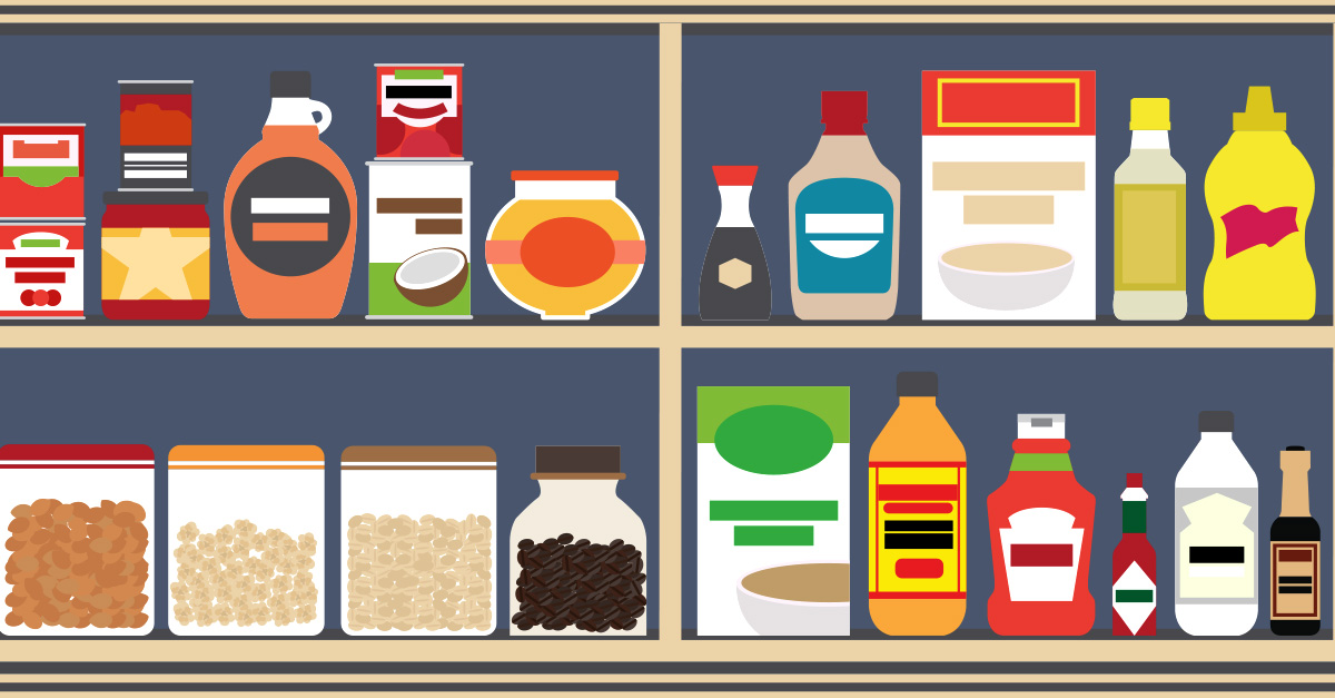 Smart pantry clipart download How to Stock a Food Pantry | Fix.com download
