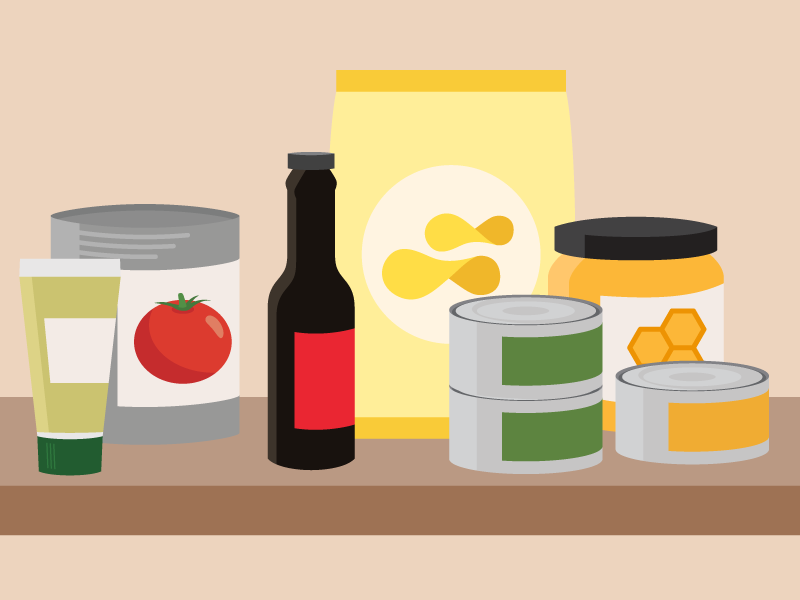 Smart pantry clipart vector library download How to Clean, Organize and Stock Your Pantry | Cook Smarts vector library download