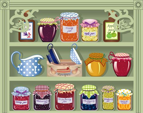 Smart pantry clipart picture free library Stocking Your Kitchen Pantry | ! ~ THE COOKS HELPER: KITCHEN ... picture free library