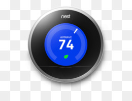 Smart thermostat clipart banner black and white download Nest Thermostat 3rd Generation PNG and Nest Thermostat 3rd ... banner black and white download