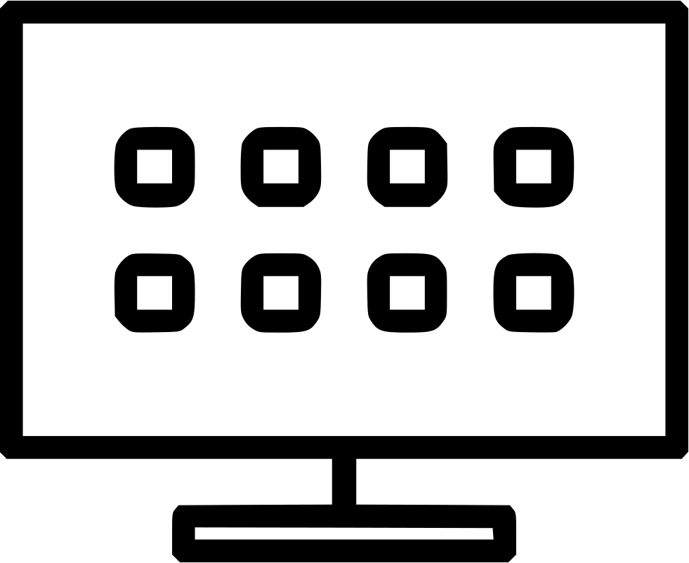 Smart tv icon clipart jpg freeuse library HD Png File - Smart Tv Png Icon , Free Unlimited Download ... jpg freeuse library
