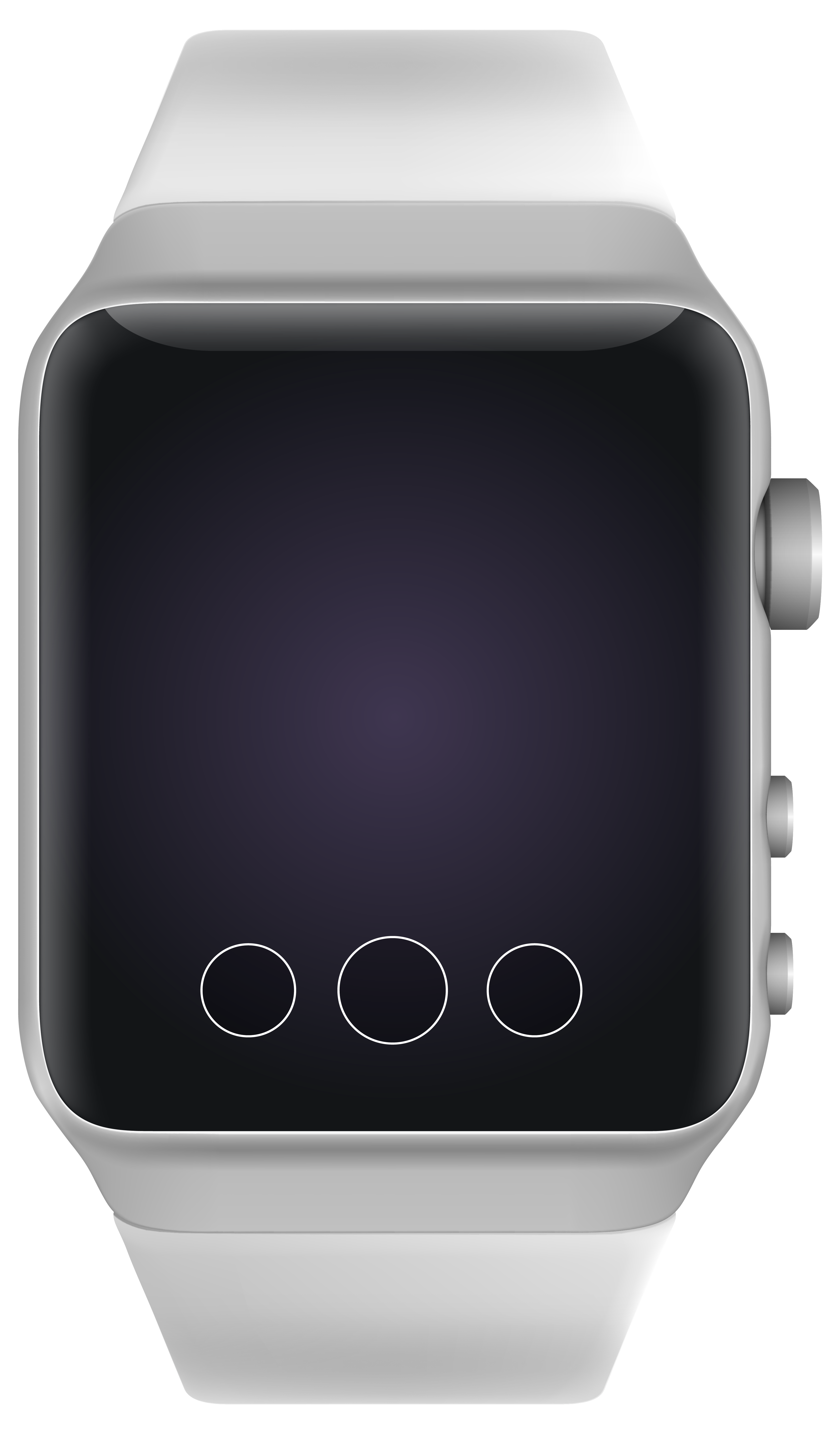 Smart watch clipart graphic black and white library Modern SmartWatch PNG Clipart - Best WEB Clipart graphic black and white library