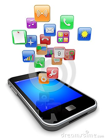 Smartphone app clipart clipart library Smart Phone Application Apps App Internet Stock Illustrations ... clipart library