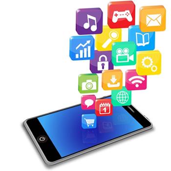 Smartphone app clipart graphic black and white How to design a smartphone app graphic black and white